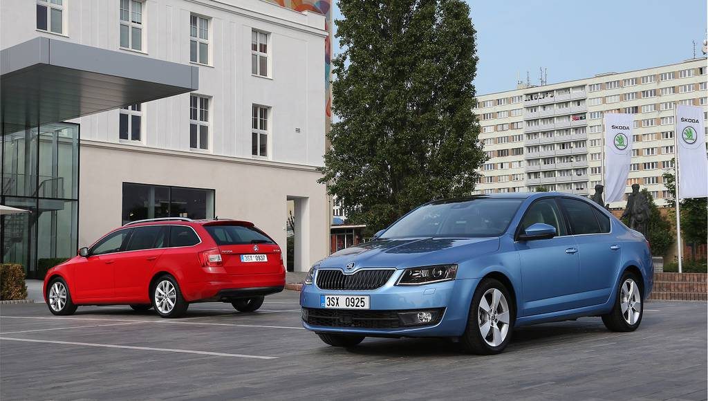 2017 Skoda Octavia updates announced in the UK