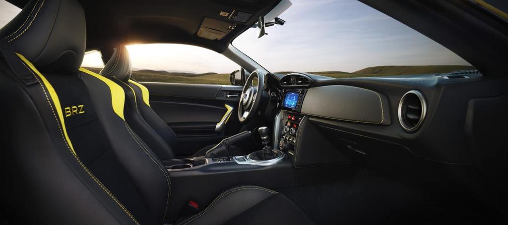2017 Subaru BRZ Series.Yellow introduced in US