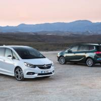 2017 Vauxhall Zafira Tourer details released