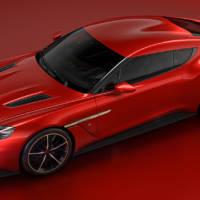 Aston Martin Vanquish Zagato Concept will be produced in a limited-run version