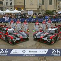Audi celebrates 10 year of diesel engines at Le Mans