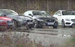 Comparison test: Jaguar XE versus its German rivals