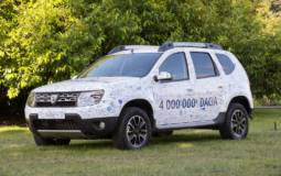 Dacia reaches its 4 millionth car sold
