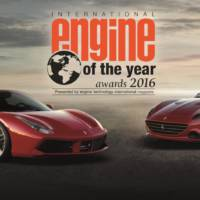 Ferrari V8 unit receives International Engine of the Year Award