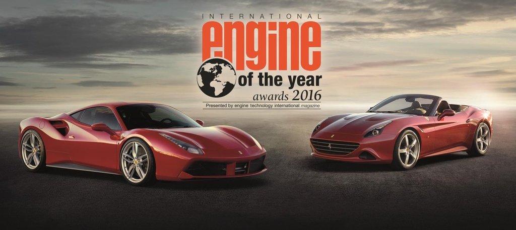 Ferrari V8 unit receives International Engine of the Year Award