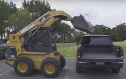Honda Ridgeline demonstrates its bed is tougher then Silverado and F-150
