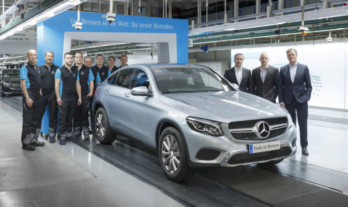 Mercedes-Benz GLC Coupe - Production started