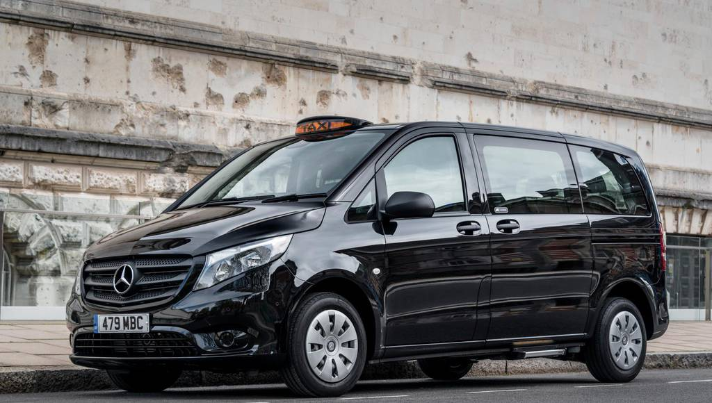 Mercedes-Benz Vito Taxi introduced on the UK market