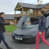 Michael Owen drives a BMW i8 and reveals its dream garage