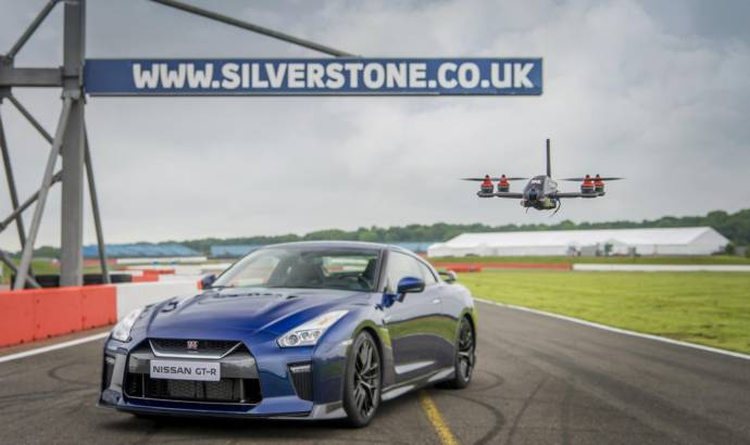 Nissan created a GT-R Drone
