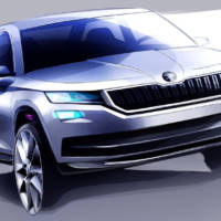 Skoda Kodiaq - First official sketches