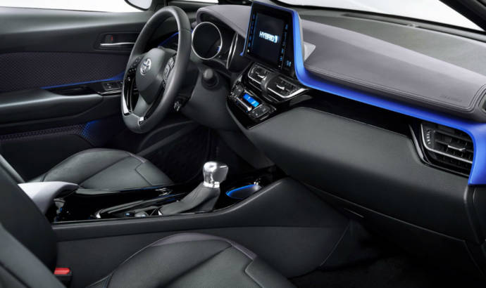 Toyota C-HR - First interior pictures