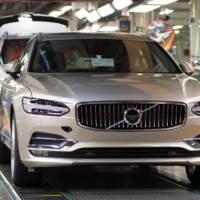 Volvo V90 enters production in Torslanda