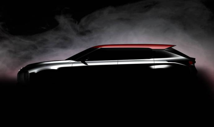 Mitsubishi Ground Tourer concept - The first teaser picture