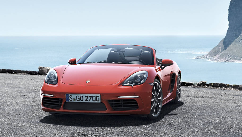 2017 Cayman and Boxster help Porsche sales
