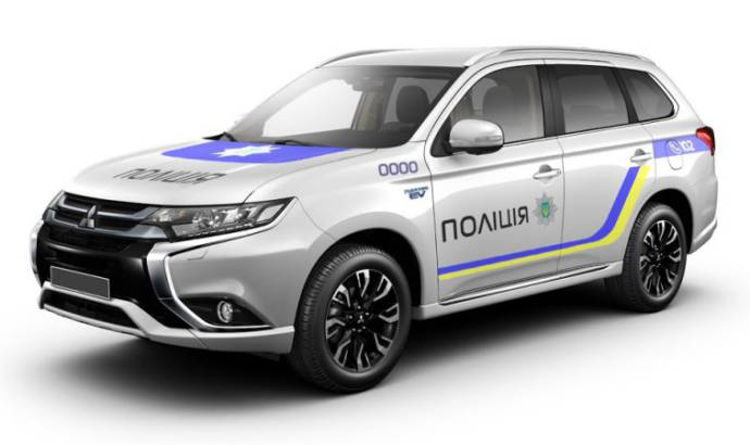 651 Mitsubishi Outlander PHEV were bought for Ukraine national police