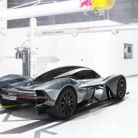 Aston Martin AM-RB 001 hypercar unveiled