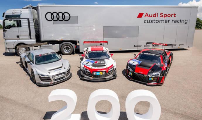 Audi R8 LMS - The 200th unit