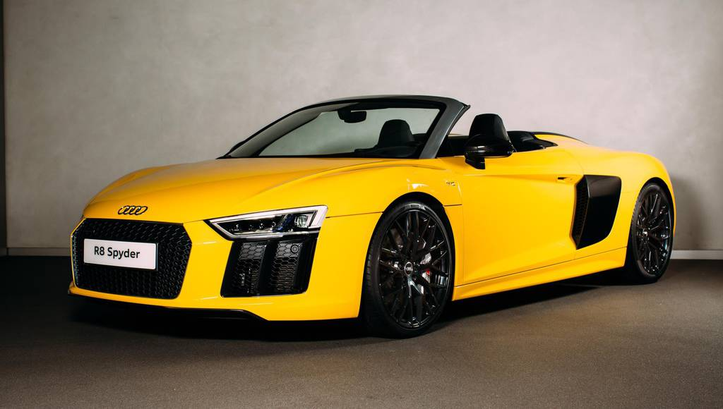 Audi R8 Spyder UK pricing announced