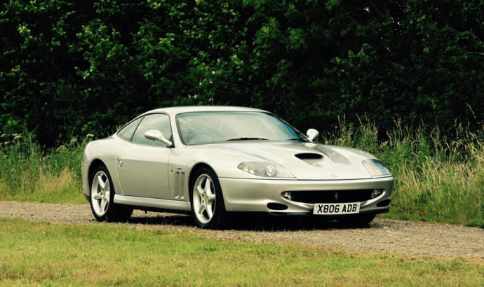 Ferrari 550 Maranello owned by Geoff Hurst to be auctioned