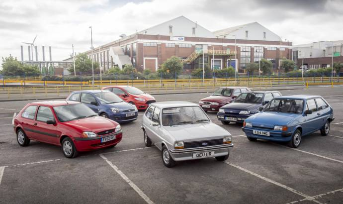 Ford Fiesta celebrates 40 years since launch