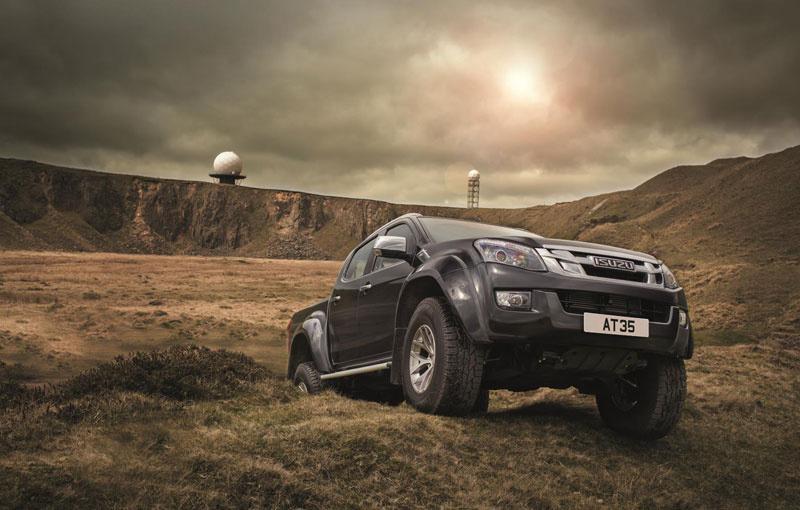 Isuzu D-Max Arctic Trucks AT35 available in UK