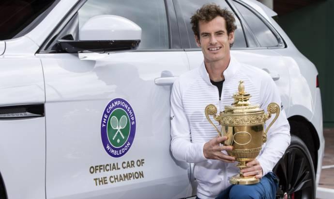 Jaguar celebrates Andy Murray Wimbledon victory