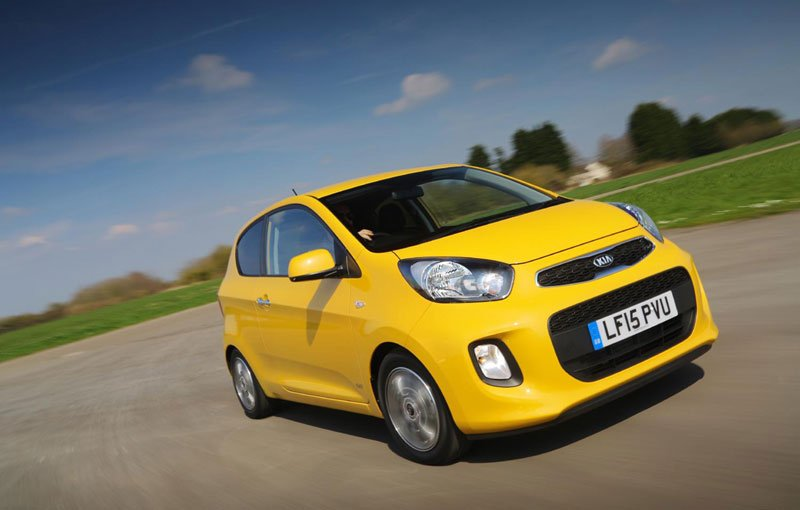 Kia Picanto, first place in JD Power city car ranking