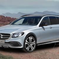 Mercedes-Benz E-Class All Terrain - Render