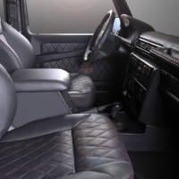 Mercedes-Benz G-Class receives interior goodies from Carbon Motors