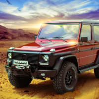 Mercedes-Benz G-Class receives interior goodies from Carbon Motors