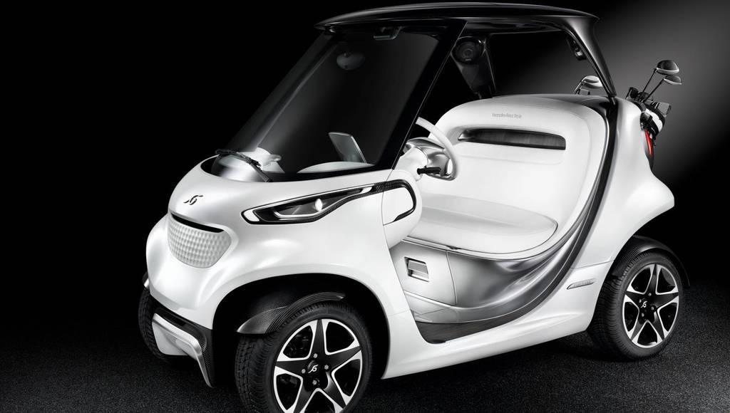 Mercedes-Benz Style Edition Garia Golf Car unveiled
