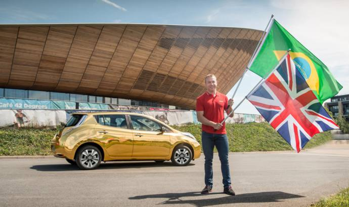 Nissan to offer gold-wrapped Leaf to UK medalists at Rio
