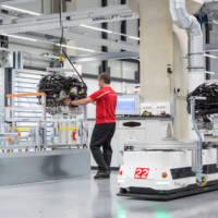 Porsche builds new V8 engine plant