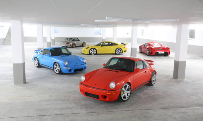 RUF opens its first showroom in UK