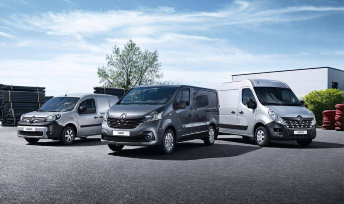 Renault Kangoo, Trafic and Master receive Euro 6 engines