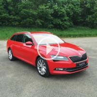 Skoda introduces the 280 hp version of the Superb