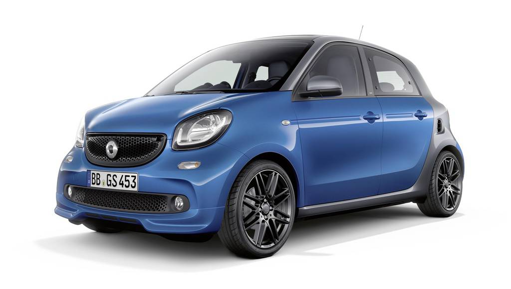 Smart fortwo updated range launched in the UK