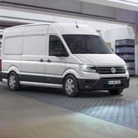 2016 Volkswagen Crafter detailed