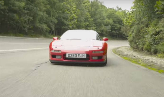 1989 Honda NSX battles the new generation NSX
