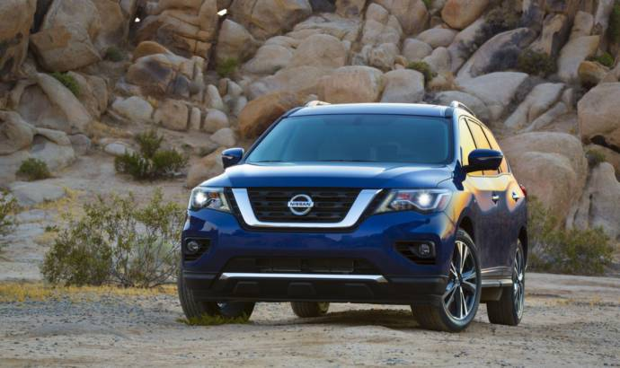 2017 Nissan Pathfinder US pricing announced
