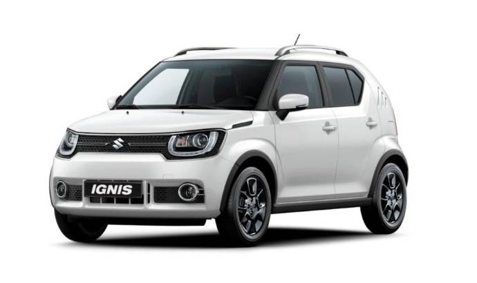 2017 Suzuki Ignis will come to Paris Motor Show