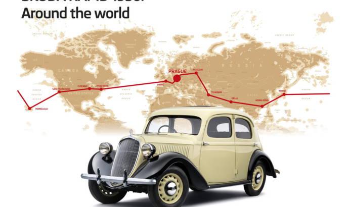 80 anniversary for Skoda Rapid's trip around the world