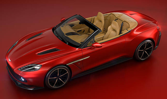 Aston Martin Vanquish Zagato Volante unveiled at Pebble Beach