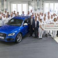 Audi Q5 - 1 million units built in Ingolstadt