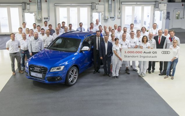 Audi Q5 - 1 million units built in Ingolstadt