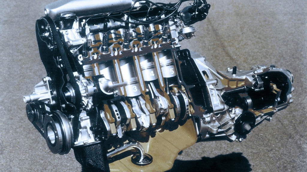 Audi celebrates 40 years of five-cylinder engines