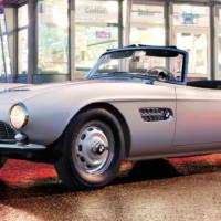 Elvis Presley BMW 507 roadster brought to life