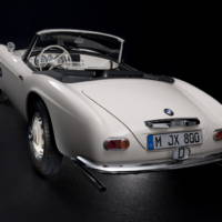 Elvis Presley BMW 507 roadster brought to life