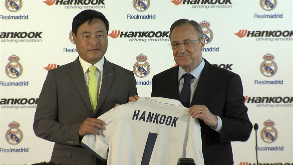 Hankook will support Real Madrid for three seasons